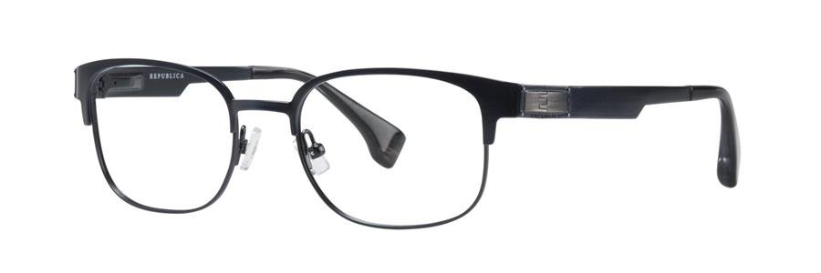 Republica BOSTON Navy Eyeglasses Size50-19-135.00