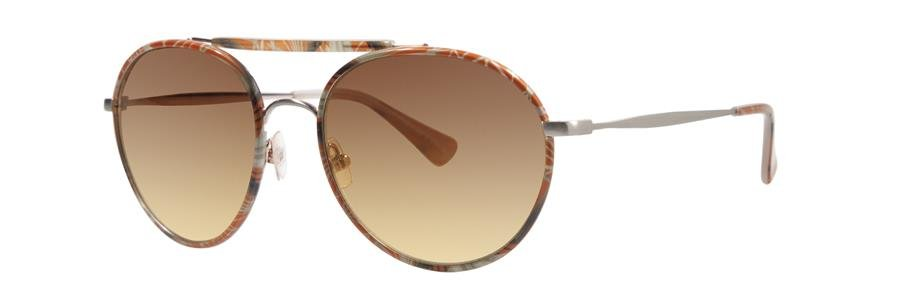 Vera Wang BRANCA Tangerine Cathedral Sunglasses Size54-18-135.00