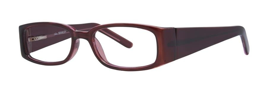 Gallery BRINKLEY Burgundy Eyeglasses Size52-18-135.00