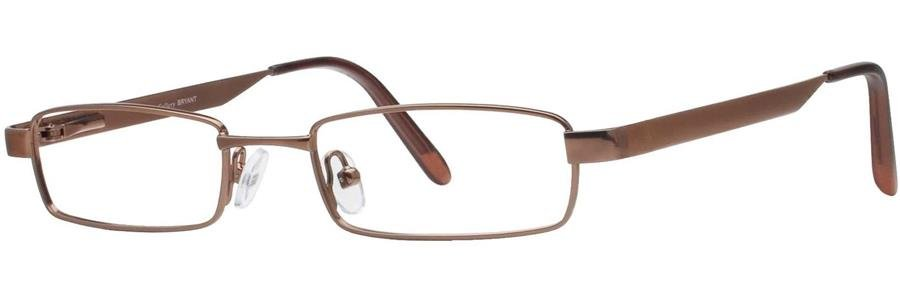 Gallery BRYANT Brown Eyeglasses Size49-19-135.00
