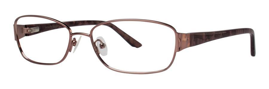 Dana Buchman CADEY Brown Eyeglasses Size54-16-132.00