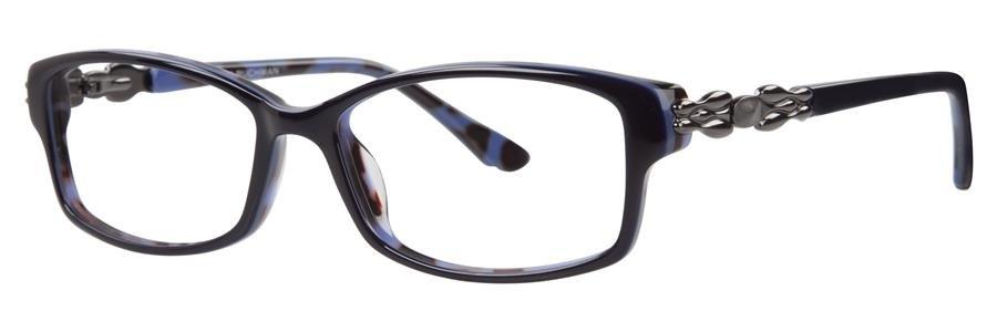 Dana Buchman CALISTA Navy Eyeglasses Size53-15-135.00
