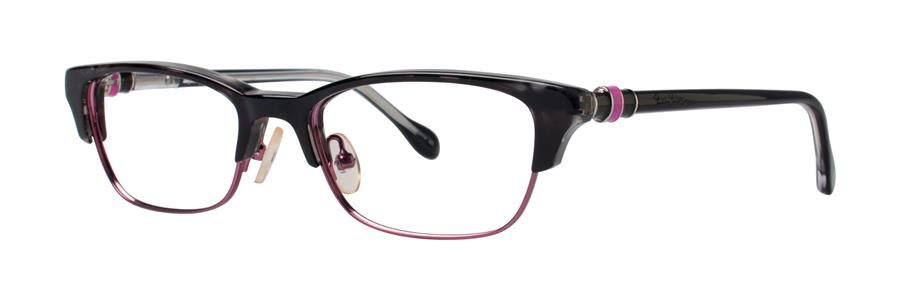 Lilly Pulitzer CAMBELL Black Eyeglasses Size50-16-135.00