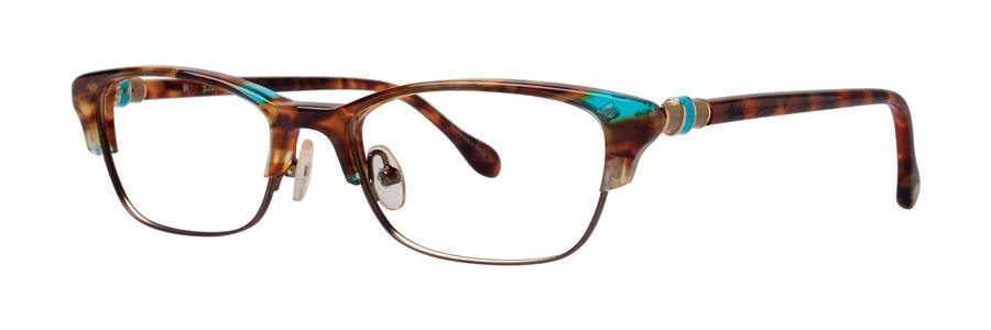 Lilly Pulitzer CAMBELL Spotty Tortoise Eyeglasses Size50-16-135.00