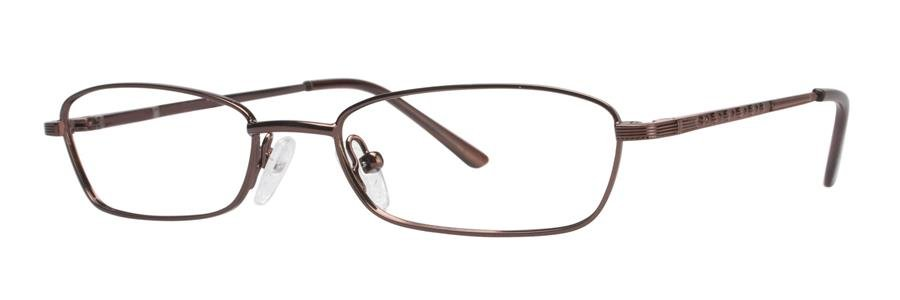 Gallery CASE Brown Eyeglasses Size49-17-130.00