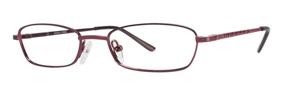 Gallery CASE Burgundy Eyeglasses Size49-17-130.00