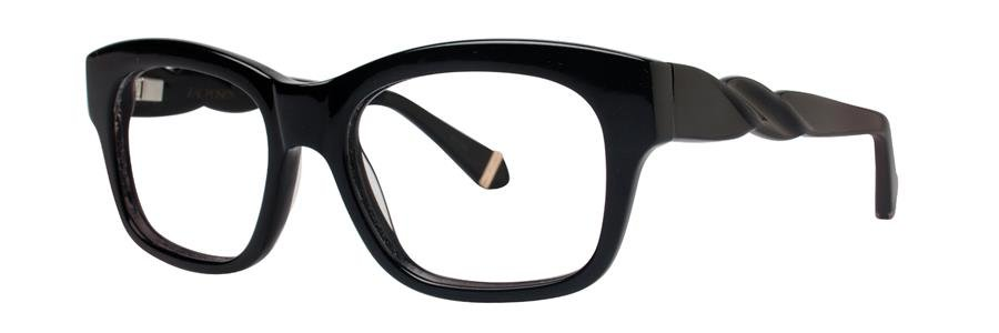 Zac Posen CASSANDRA Black Sunglasses Size52-17-135.00
