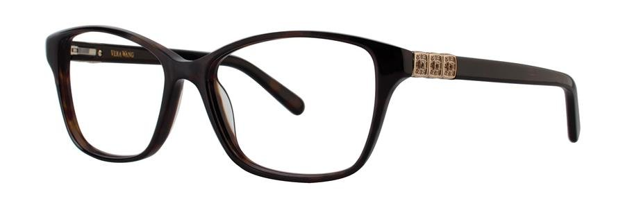 Vera Wang CHALAN Tortoise Eyeglasses Size51-15-135.00