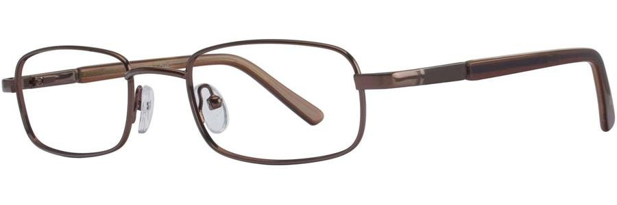 Gallery CHAZ Brown Eyeglasses Size52-18-140.00