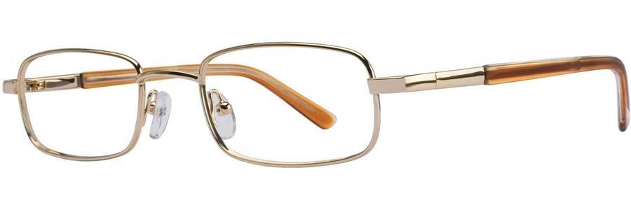 Gallery CHAZ Gold Eyeglasses Size50-18-135.00