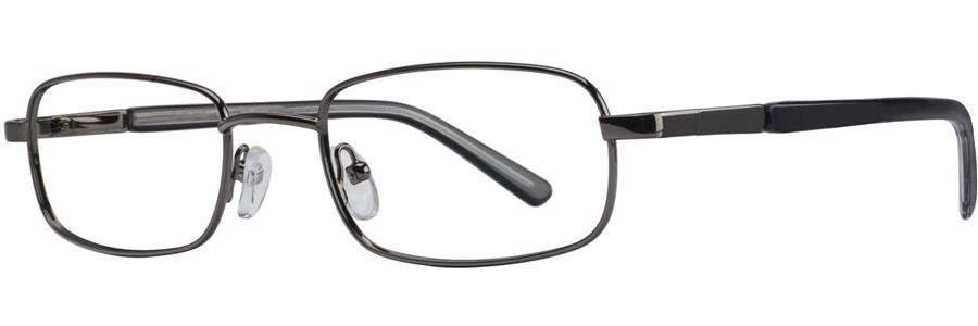 Gallery CHAZ Pewter Eyeglasses Size50-18-135.00