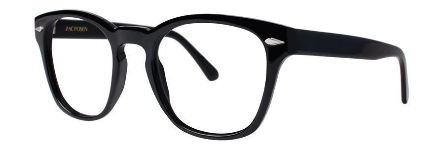 Zac Posen CHRISTOPHE Black Eyeglasses Size50-21-143.00