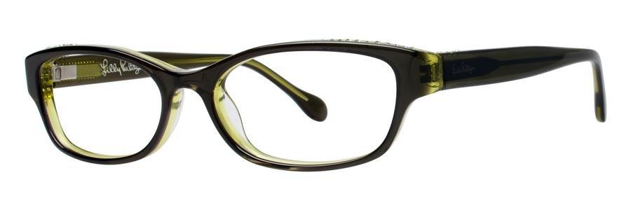 Lilly Pulitzer CLARITA Green Eyeglasses Size52-15-135.00
