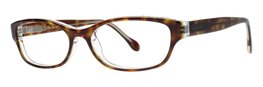 Lilly Pulitzer CLARITA Tortoise Eyeglasses Size50-15-135.00