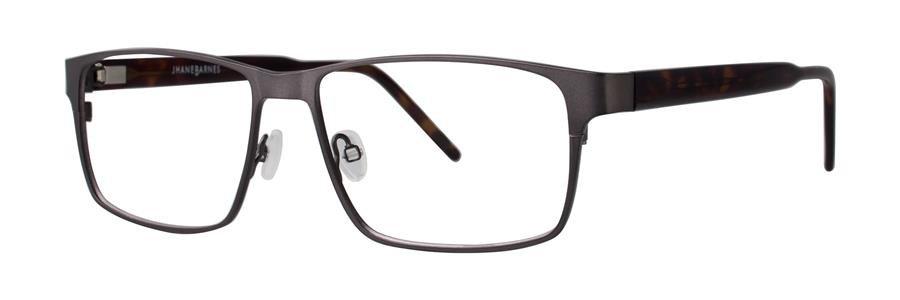 Jhane Barnes CODE Gunmetal Eyeglasses Size57-15-150.00