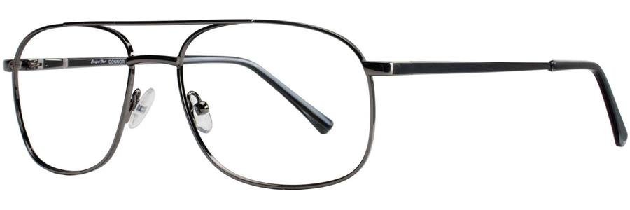 Comfort Flex CONNOR Gunmetal Eyeglasses Size55-17-145.00