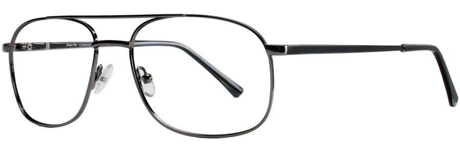 Comfort Flex CONNOR Gunmetal Eyeglasses Size57-17-150.00