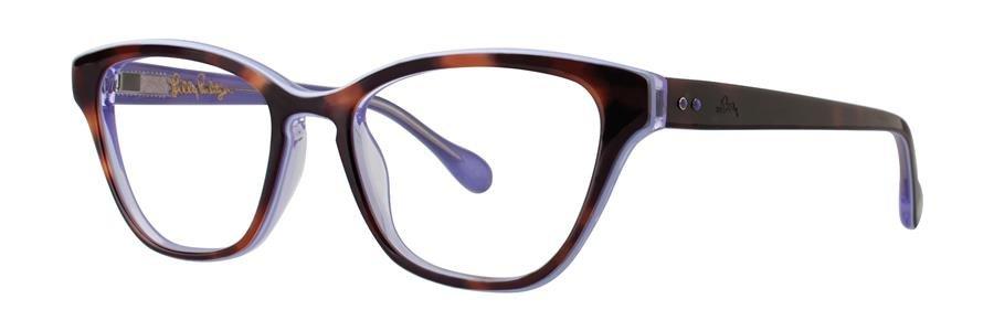 Lilly Pulitzer COPELAND Tortoise Eyeglasses Size50-17-135.00