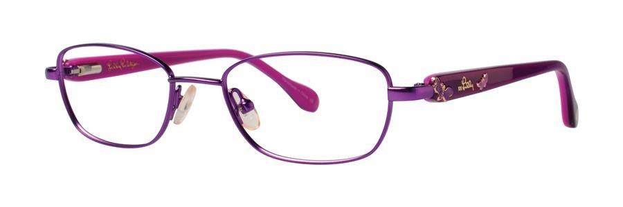Lilly Pulitzer CORALINE Lavender Eyeglasses Size45-16-120.00