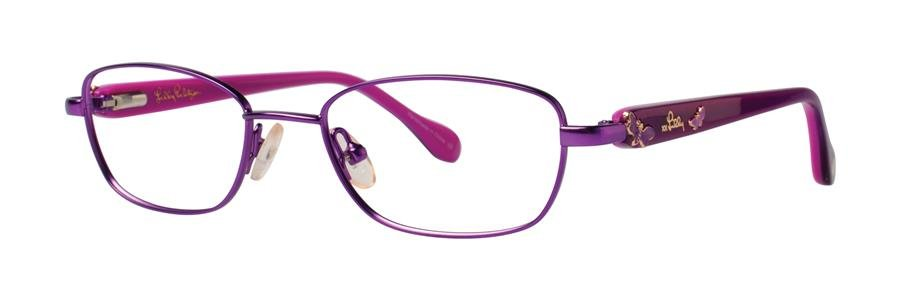 Lilly Pulitzer CORALINE Lavender Eyeglasses Size47-16-125.00