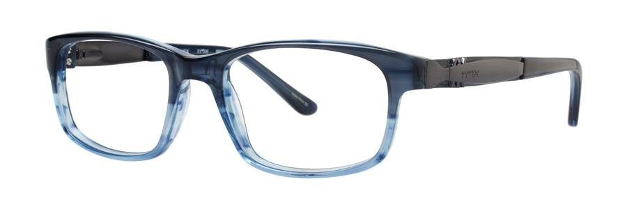 Timex CROSSED Navy Eyeglasses Size46-16-130.00