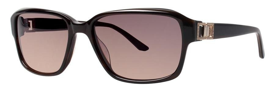 Dana Buchman CYRA Brown Eyeglasses Size55-16-135.00