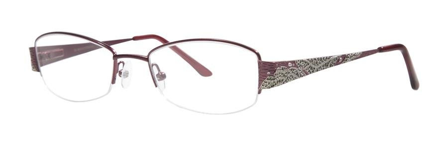 Dana Buchman DARA Burgundy Eyeglasses Size49-18-130.00