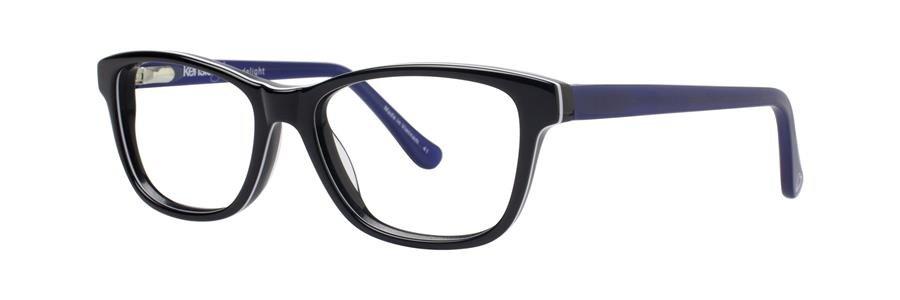 kensie DELIGHT Black Eyeglasses Size47-14-125.00