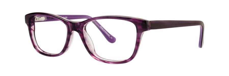 kensie DELIGHT Purple Eyeglasses Size49-14-130.00