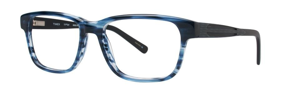 Timex DIALED IN Navy Eyeglasses Size51-16-135.00