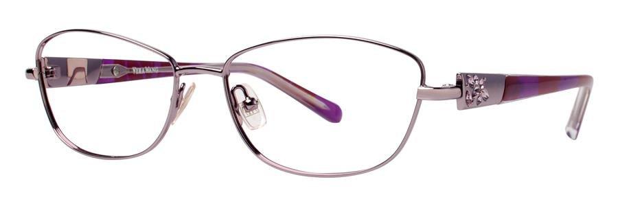 Vera Wang DIAPHANOUS Lilac Eyeglasses Size53-15-135.00