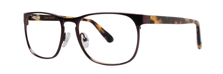 Zac Posen DIPLOMAT Brown Eyeglasses Size54-17-140.00