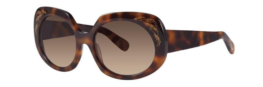 Zac Posen DOVIMA Tortoise Sunglasses Size55-18-135.00