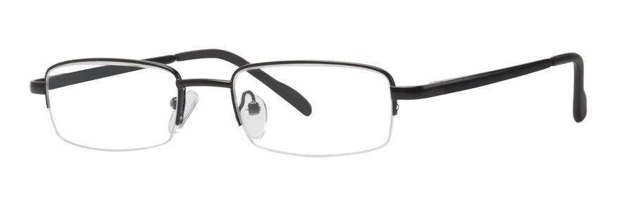 Comfort Flex DUSTIN Black/Silver Eyeglasses Size48-18-135.00