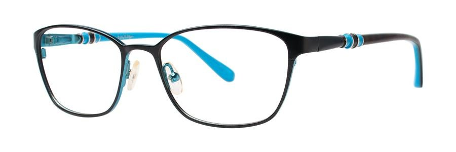 Lilly Pulitzer EATON Black Eyeglasses Size53-16-135.00
