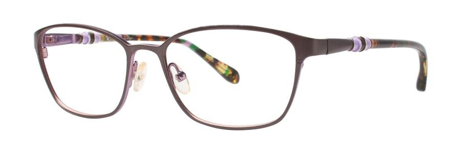 Lilly Pulitzer EATON Brown Eyeglasses Size53-16-135.00