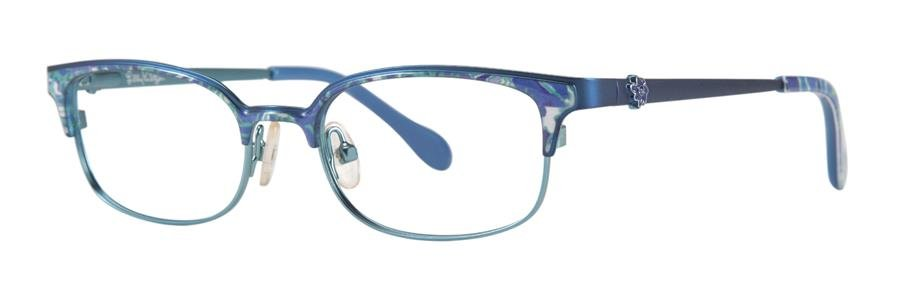 Lilly Pulitzer EFFIE Blue Eyeglasses Size46-16-125.00