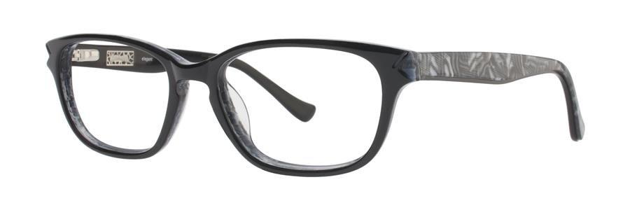 kensie ELEGANT Black Eyeglasses Size53-17-130.00