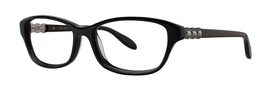 Vera Wang ELGANTINE Black Eyeglasses Size52-15-133.00