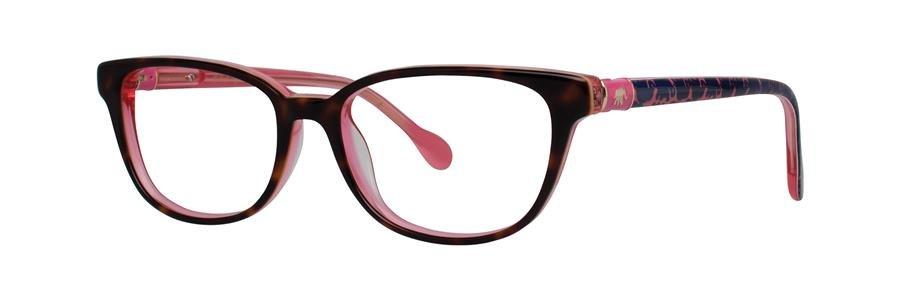 Lilly Pulitzer ELLA Tortoise Eyeglasses Size48-15-130.00