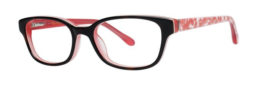 Lilly Pulitzer EMMA Havana Melon Eyeglasses Size46-16-125.00