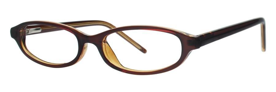 Gallery EMMALYN Chocolate Eyeglasses Size45-16-130.00