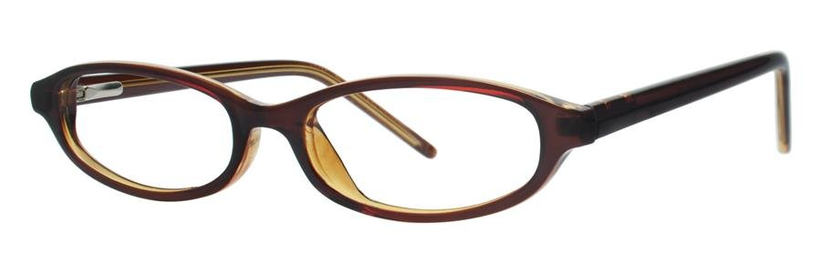 Gallery EMMALYN Chocolate Eyeglasses Size47-16-130.00