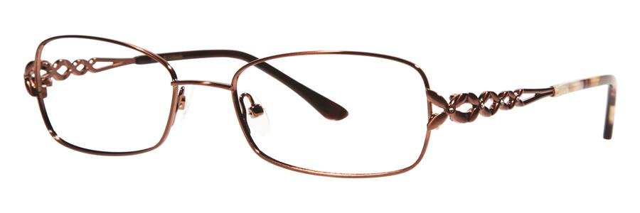 Dana Buchman ENDORA Brown Eyeglasses Size50-18-136.00