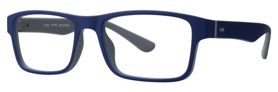 Timex ENFORCER Navy Eyeglasses Size51-17-140.00