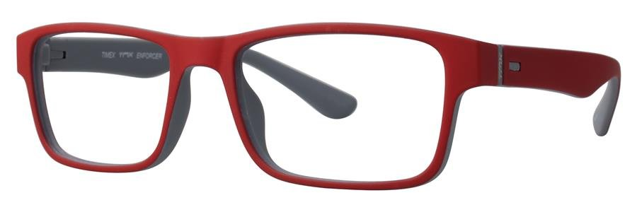 Timex ENFORCER Red Clay Eyeglasses Size51-17-140.00