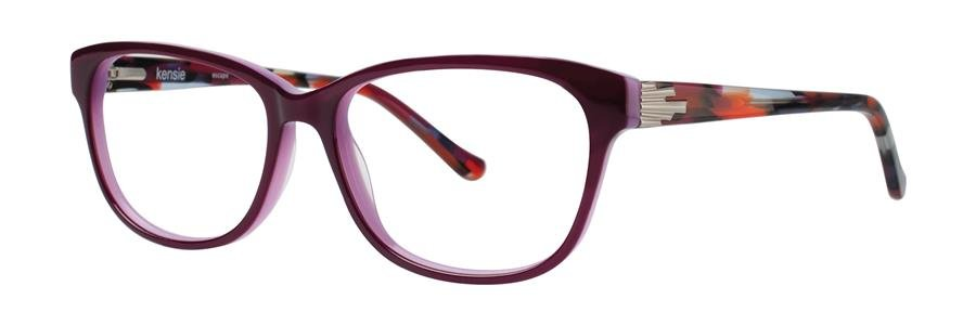 kensie ESCAPE Purple Eyeglasses Size52-15-135.00