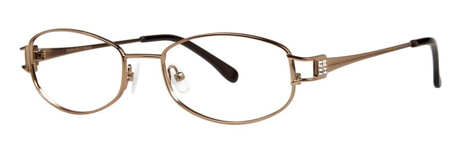 Dana Buchman ESTELLE Brown Eyeglasses Size50-18-130.00