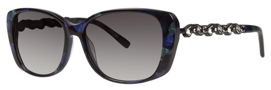 Vera Wang ETERNAL Navy Tortoise Sunglasses Size55-15-135.00