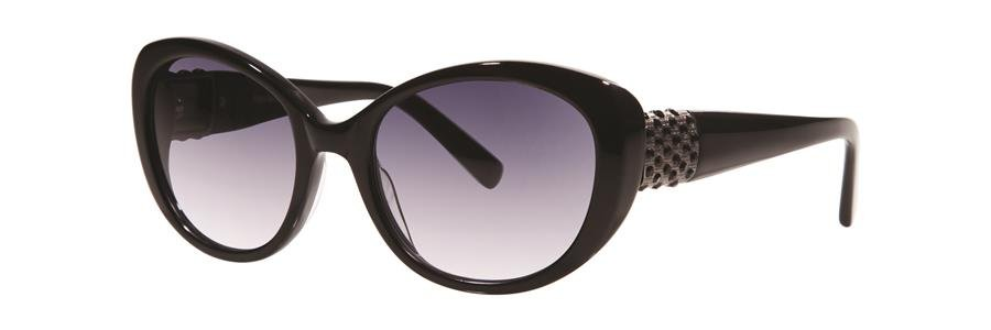 Vera Wang EUDORA Black Sunglasses Size52-18-135.00